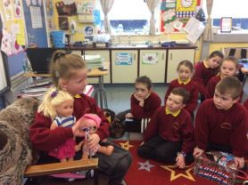 P3 and P4 had Show And Tell