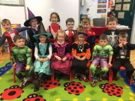 Halloween Healthy Eating Theme Day
