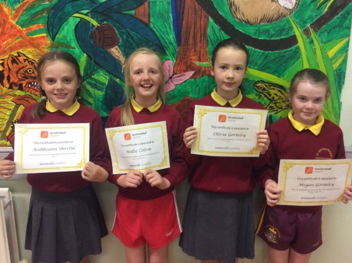 Accelerated Reading award P5 & P6