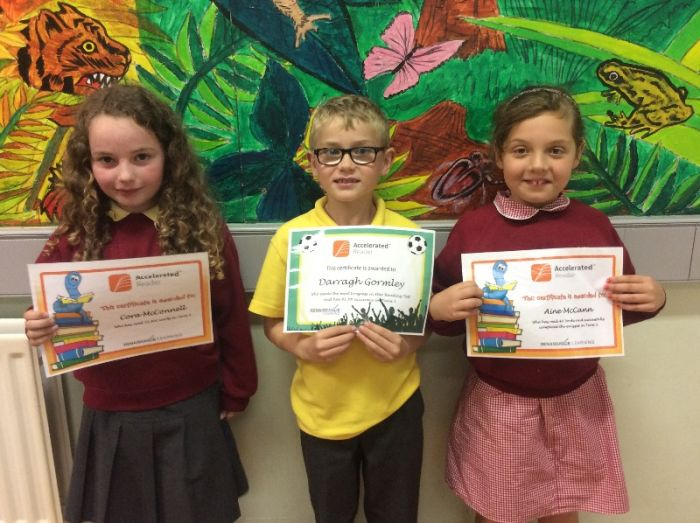Accelerated Reading award P4