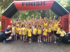 Sponsored Run at Knockmany Ends Sussessful Running Club