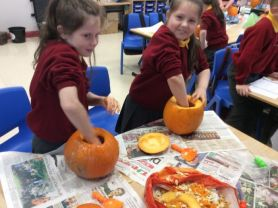 Pumpkin Carving Fun at Aughadarragh